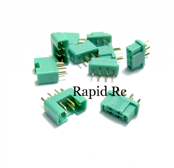 MPX Connector Male/Female ( 5 pairs/set )